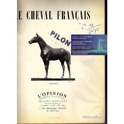le cheval français . l'opinion économique et financière