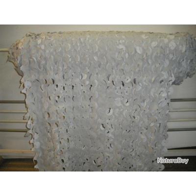 Filet camouflage blanc 156m2 rouleau stock americain 66200 elne