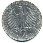 GERMANY MAX PLANCK 2 Deutsche Mark 1969