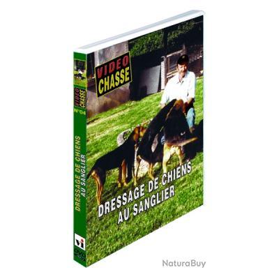 DRESSAGE DE CHIENS AU SANGLIER -DVD NEUF µ