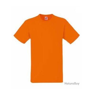 lot de 10 tee shirt fruit of the loom orange xl tee. Black Bedroom Furniture Sets. Home Design Ideas