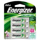4 piles Energizer rechargeables AA (LR6) 2300mAh