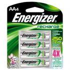 4 piles Energizer rechargeables AA (LR6) 2300mAh
