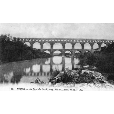 Cpa nimes le pont du gard cartes postales historiques 783167 - Mondial relay nimes ...