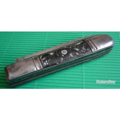 ancien couteau pliant 4 lames pradel couteaux r gionaux 815163. Black Bedroom Furniture Sets. Home Design Ideas