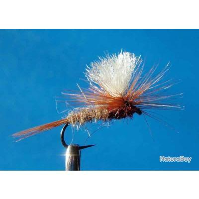 lot de 10 Mouche Parachute Oreille de lièvre Thorax