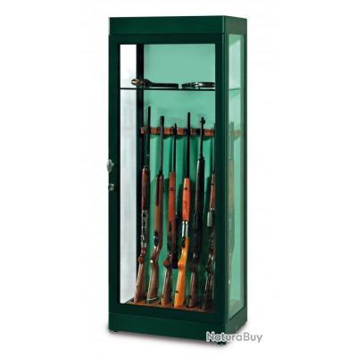 Vitrines armoire coffre blind e pour 7 fusils top qualite top prix coffres forts et - Armoire blindee pour armes ...
