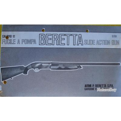 Notice de montage & démontage fusil a pompe Beretta cl 12 Modèle  RS 200