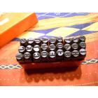 jeu de frappe 10mm lettres