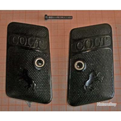 Plaquette Colt 1908  calibre 6,35