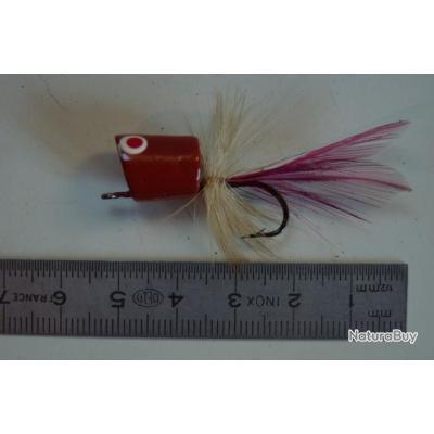 Leurre popper pour pêche à la mouche