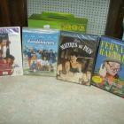 4 DVD neufs sous cellophane  A 1€ SANS PRIX DE RESERVE