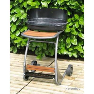 barbecue charbon de bois fonte fran aise isy black. Black Bedroom Furniture Sets. Home Design Ideas