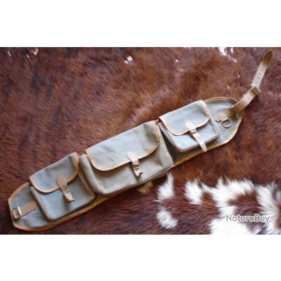 ancienne sacoche pour le port a la ceinture p che au leurres bagagerie rangement carnassiers. Black Bedroom Furniture Sets. Home Design Ideas