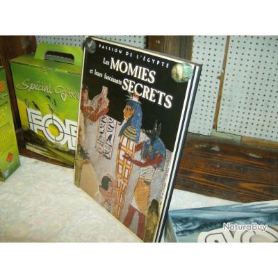 les momies et leurs secrets éditions atlas, parfait état