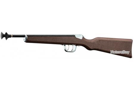 1 petite carabine à flèches 2 coups juxtaposée jouet pour enfants ou collectionneurs
