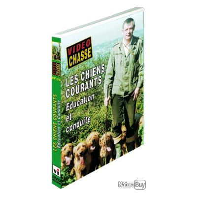 LES CHIENS COURANTS, éducation et conduite -DVD NEUF µ