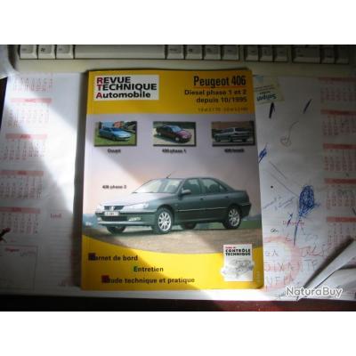 vend revue technique peugeot 406 diesel phase 1et2 autres livres k7 et dvd 962142. Black Bedroom Furniture Sets. Home Design Ideas