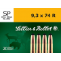 Sellier&Bellot 9,3 x 74 R SP 18,5g/285gr
