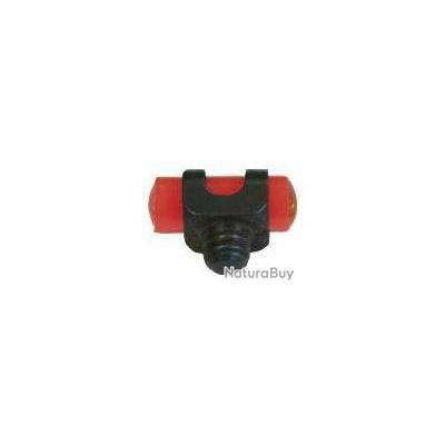 Guidon fluo rouge à visser Ø2.6mm