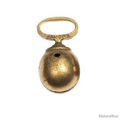 Grelots bronzé Armistol en alliage bronzé, monoblocs Diam.30 mm