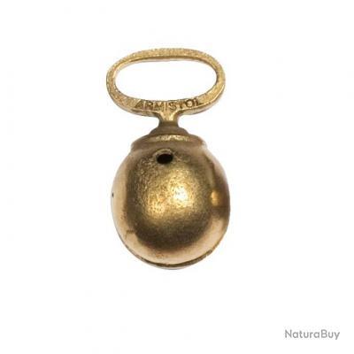 Grelots bronzé Armistol en alliage bronzé, monoblocs Diam.35 mm