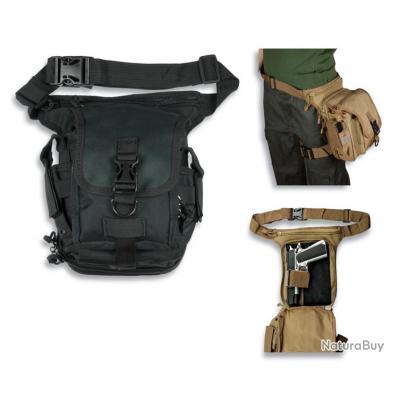 4259d7772248 SPECIAL ARMES DE POING   Sac de ceinture tactique BARBARIC FORCE noire Réf  34472