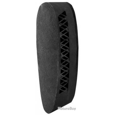 Plaque amortisseur Country noire caoutchouc ventilée 35 mm