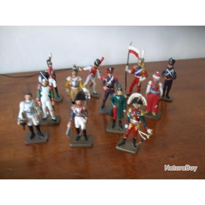 lot de 12 soldats plomb de l'empire lot n° 4