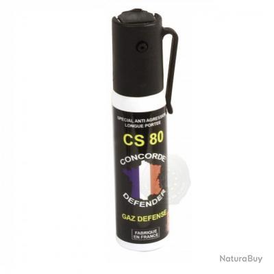 Bombe Anti-Agression Lacrymogènes  GAZ CS  25 ml