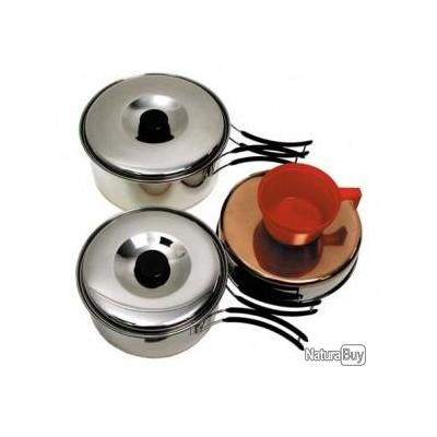 Grande gamelle inox mat riel de cuisine 1208258 for Materiel cuisine inox