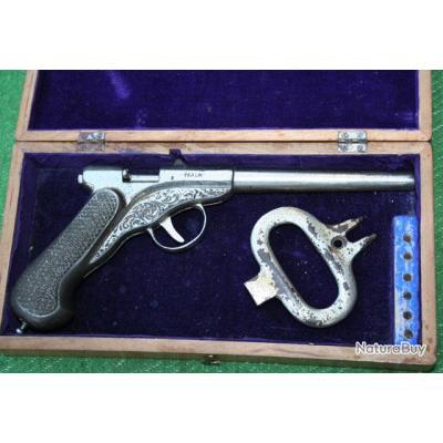 Un SMITH & WESSON 79G de plus, MAIS dans sa boîte d'origine __00001_PISTOLET-AIR-COMPRIME-FIGARO-Calibre-45mm-FR-XIX