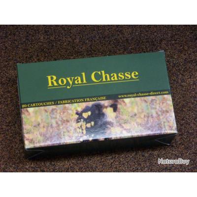 20 Munitions Royal Chasse Calibre 7mm REM Mag Nosler BT 150gr