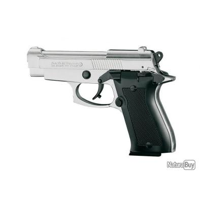 Pistolet Mod. 85 Auto  CHROME  Cal. 9mm PAK