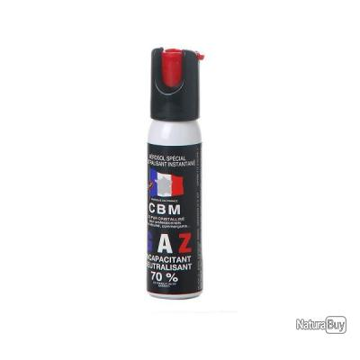 Bombe Anti-Agression GAZ CS  25 ml