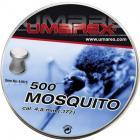 2 Boites de 500 Plombs UMAREX MOSQUITO Cal 4.5 (.177)
