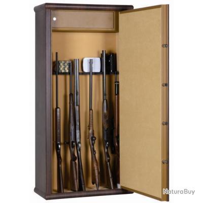 coffre fort armoire infac wood look 8 armes lunette coffre top prix livraison offerte. Black Bedroom Furniture Sets. Home Design Ideas