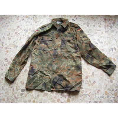 veste armée allemande  camo comme NEUVE ( jamais portée) GR Nr 6 ( taille 42)