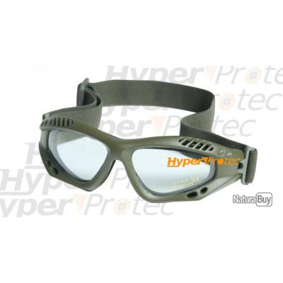 97b602cc9777be Lunettes de protection Commando airsoft - Vert clair - Protections ...