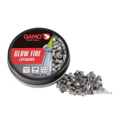 Plombs GLOW FIRE 125 plombs, Cal. 4.5