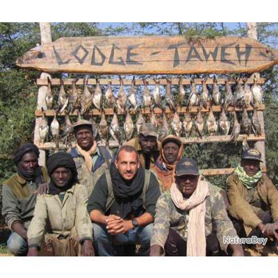 Chasse des anatidés, du petit gibier et des pacochères au Sénégal - Forfait 6 jours / 7 nuits