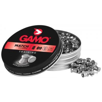 Boites de 250 de Plombs GAMO Match Calibre: 5.5