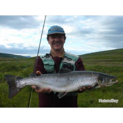 Pêche du Saumon et de la Truite en Islande