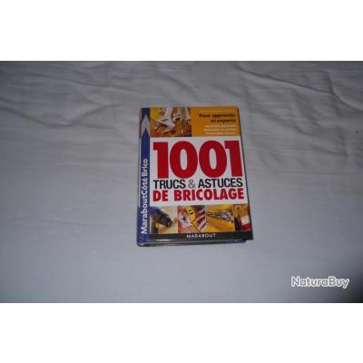 Livre 1001 Trucs Et Astuces De Bricolage - Autres Livres, K7 Et