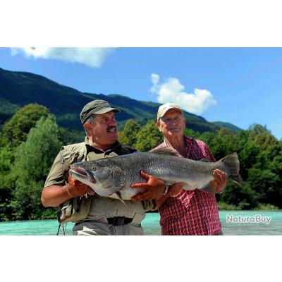 Voyage de Pêche en Slovénie : Soca, Idrijca, Savas, Unec...