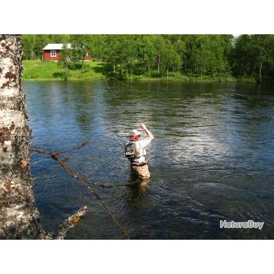 Voyage de Pêche en Suède : Laponie Suédoise : Ammarnäs - Vallée de la Vindelälven