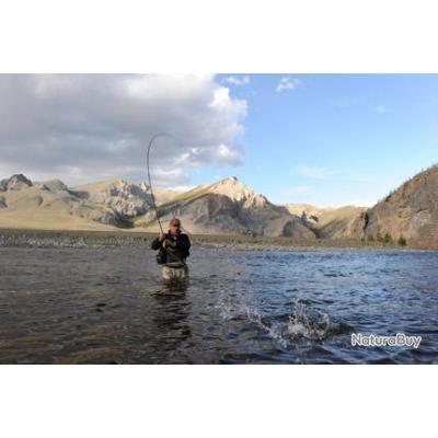 Voyage de Pêche en Mongolie : Truites lenok et ombres