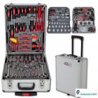 251 pc morceau boite trolley a outils chrome vanadium mallette caisse