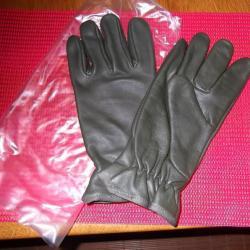e1dbe4203792 1 PAIRE DE GANT D HIVER EN CUIR ARMEE FRANCAISE 1 paire de gant d hiver en  cuir ... ATTENTION TAILLE 7 100% NEUVE
