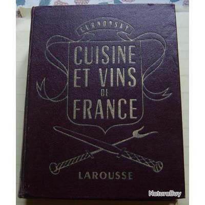 Cuisine et vins de france curnonsky livres de cuisine for Cuisine et vins de france